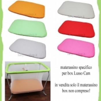 MATERASSINO SPECIFICO PER BOX LUSSO CAM